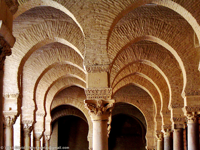 Nagymecset, Kairouan, Tunézia, Afrika