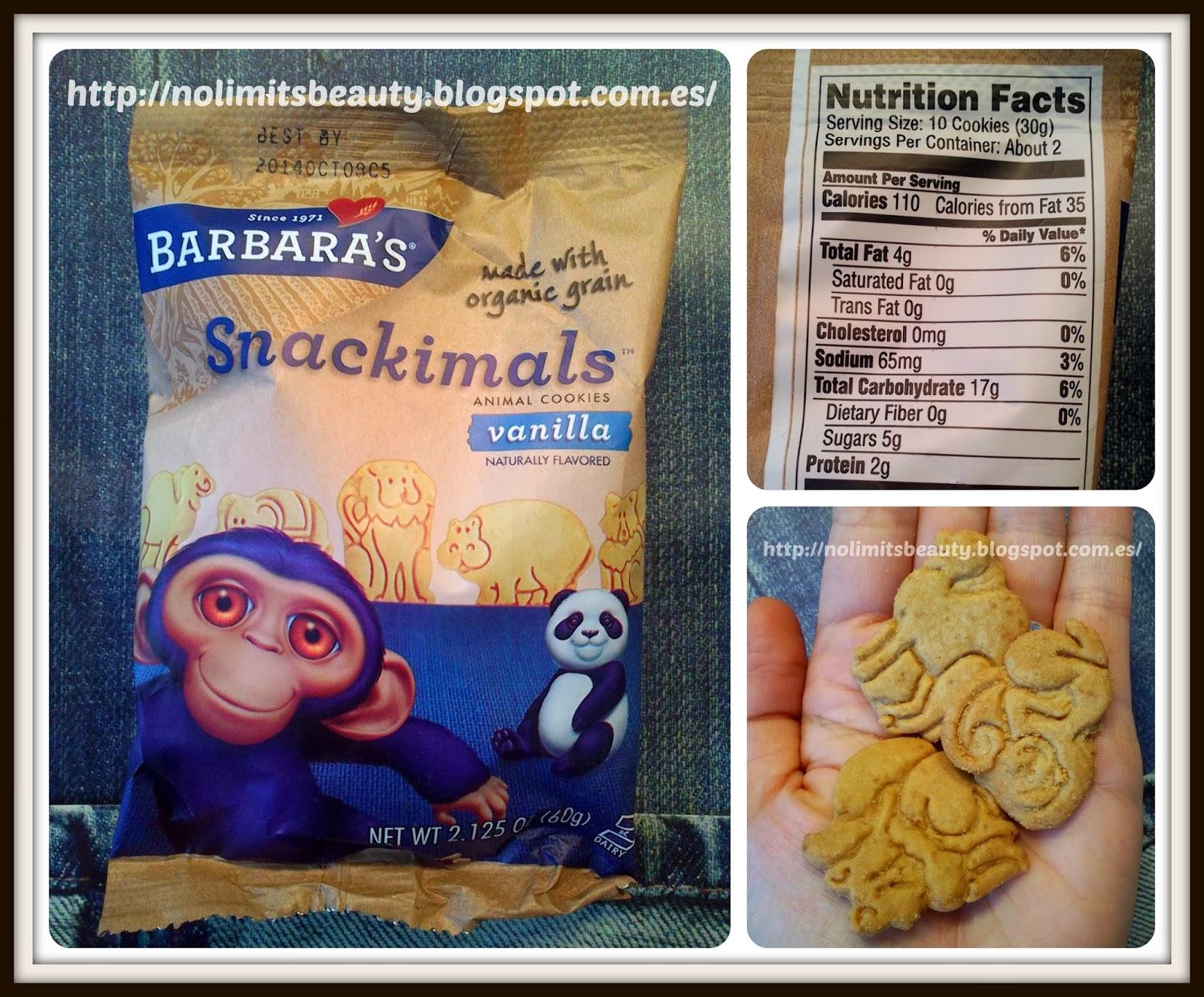 iHerb - Barbara's Snackimals Vanilla Cookies