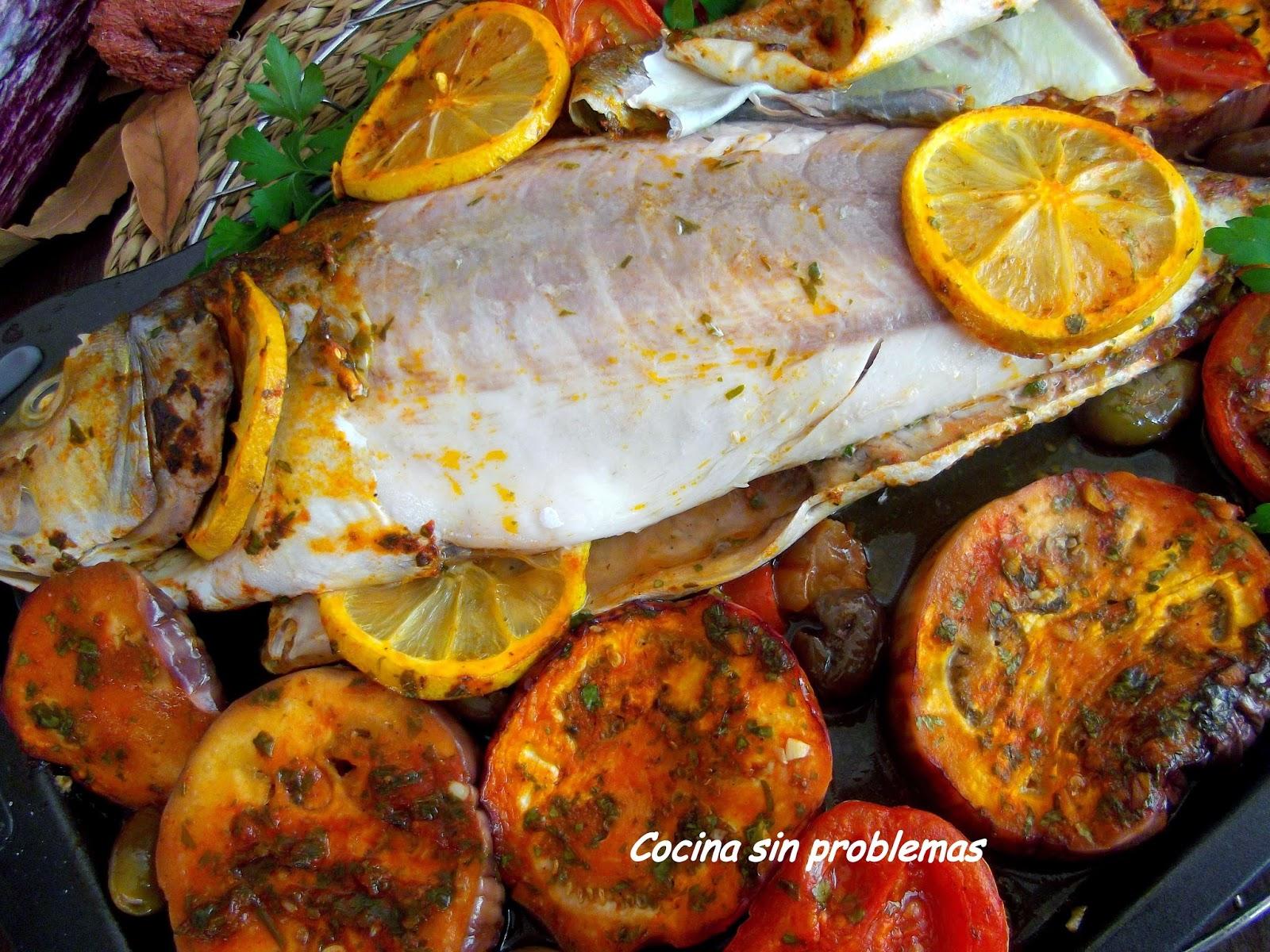 Cocina sin problemas pescado al horno m chermel - Cocina al horno ...
