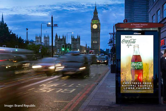 JCDecaux London OOH Contract