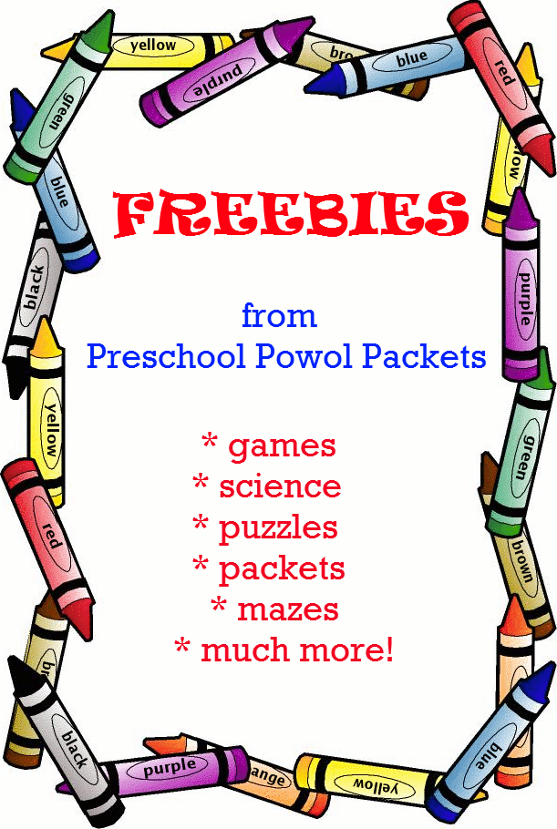 Free Kindergarten Worksheets Printable Packets : Free preschool powol packets