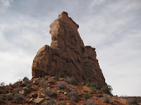 Independence Tower in Colorado National Monument