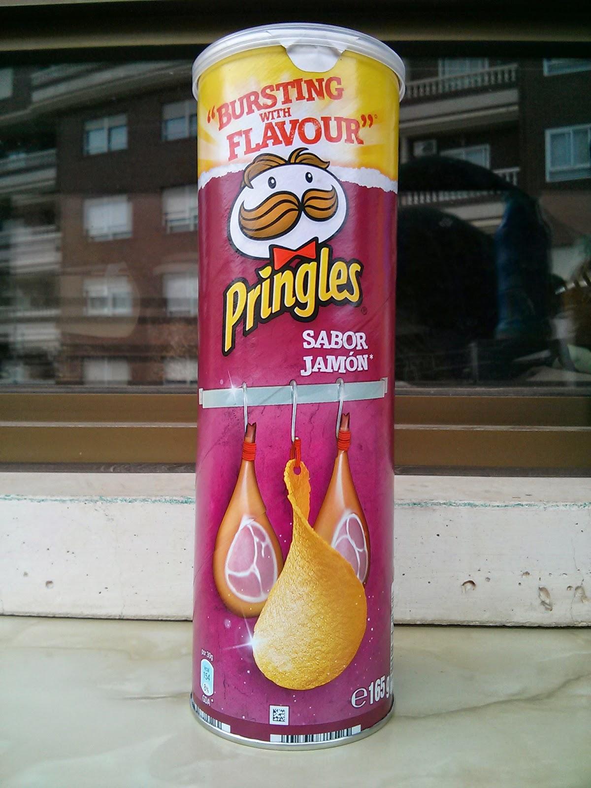 Pringles jamón Degustabox