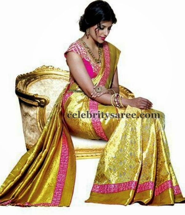 Benaras Saree by Golden Threads