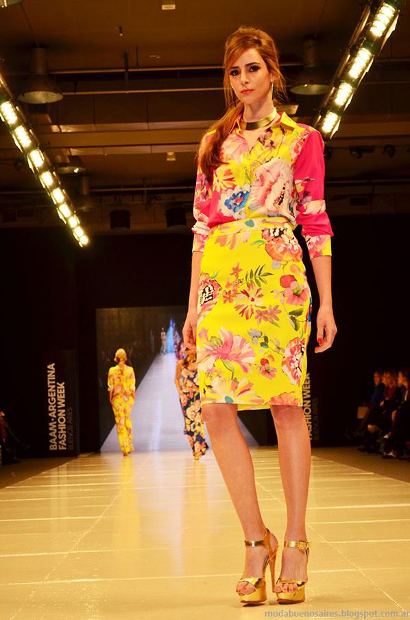 Laurencio Adot primavera verano 2014  trajes de mujer.