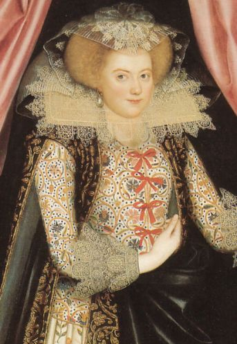 Elizabethan Lady Cary Close Up