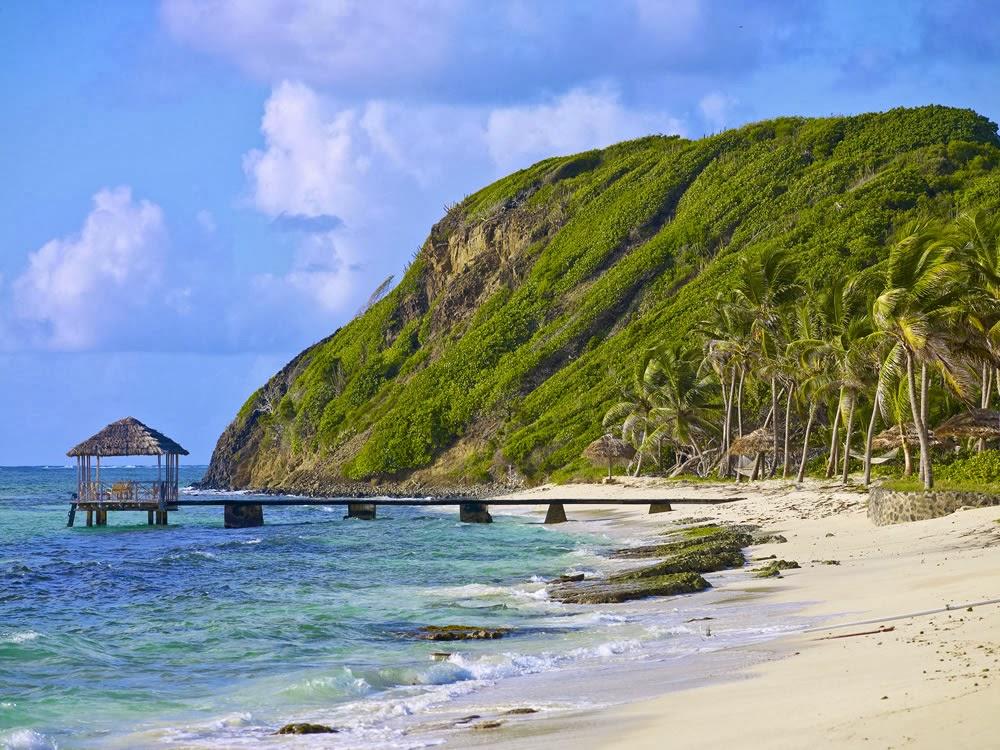 Beach on Saint Vincent