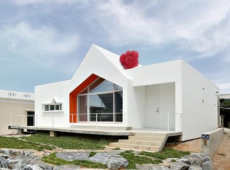 Casa renovada en corea arquitectura y for Casa moderna corea