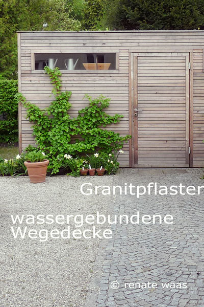 gartenblog geniesser garten kieswege wassergebundene wegedecke. Black Bedroom Furniture Sets. Home Design Ideas