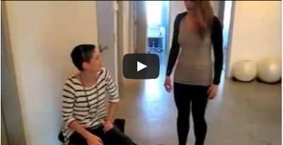 بالفيديو ... فتاة ذات قدرة خارقة .. لن تصدق ما تراه !