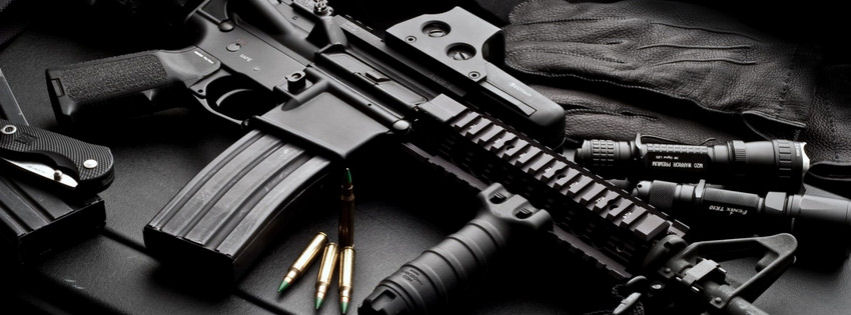 Hi tech weaponary facebook cover