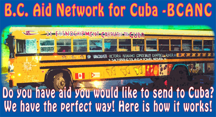 BC Aid Network for Cuba