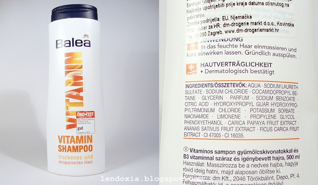Balea Vitaminski sampon