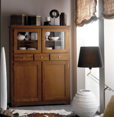 Muebles de madera maciza roble comedores y livings decoractual dise o y decoraci n - Muebles de madera maciza baratos ...