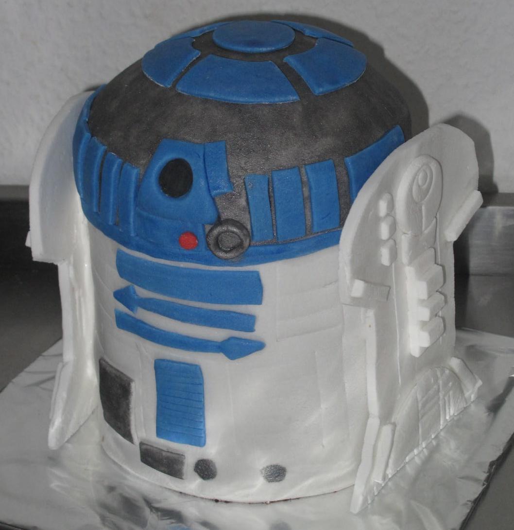 Torte4u Star Wars Nikko R2 D2 Robot Torte