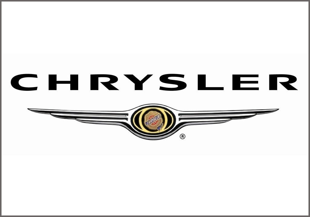 chrysler auto logo with -#main