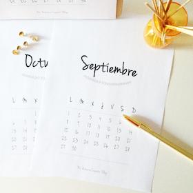 Calendario Mi armario coqueto