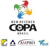 programa bem receber copa mundo futebol mega eventos Brasil