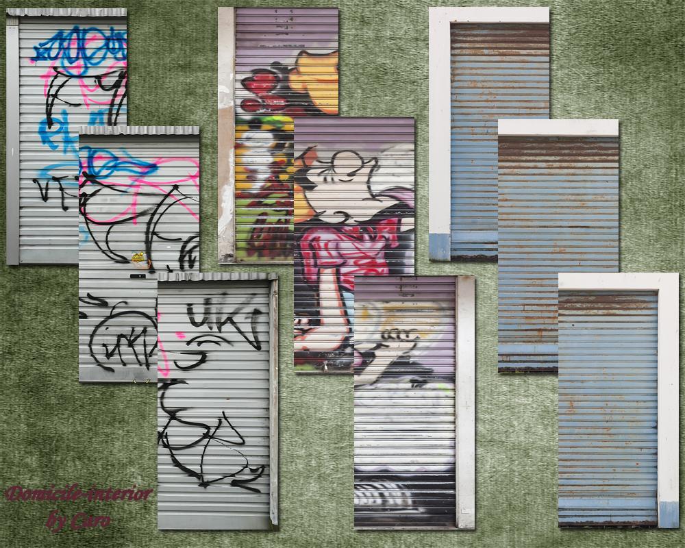 Domicile interior garage doors for Garage a domicile 95