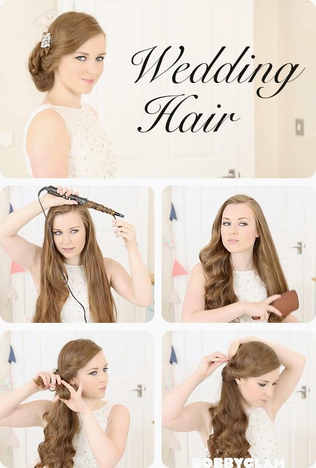 Wedding hair tutorial for the diy-bride