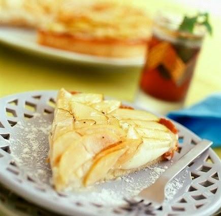 Torta de manzana en microondas