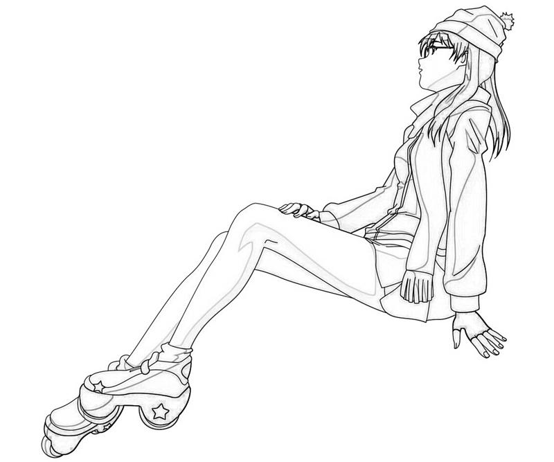 air-gear-ringo-noyamano-style-coloring-pages