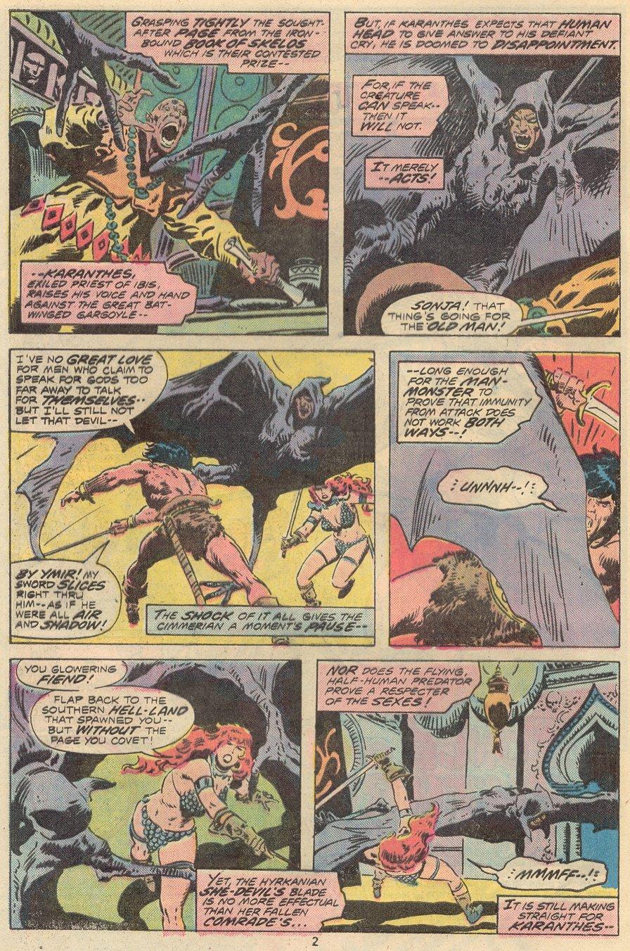 Conan the Barbarian (1970) Issue #68 #80 - English 3