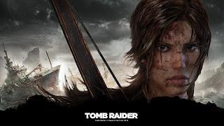 Tapeta z gry Tomb Raider 1920x1080: Twarz Lary Croft