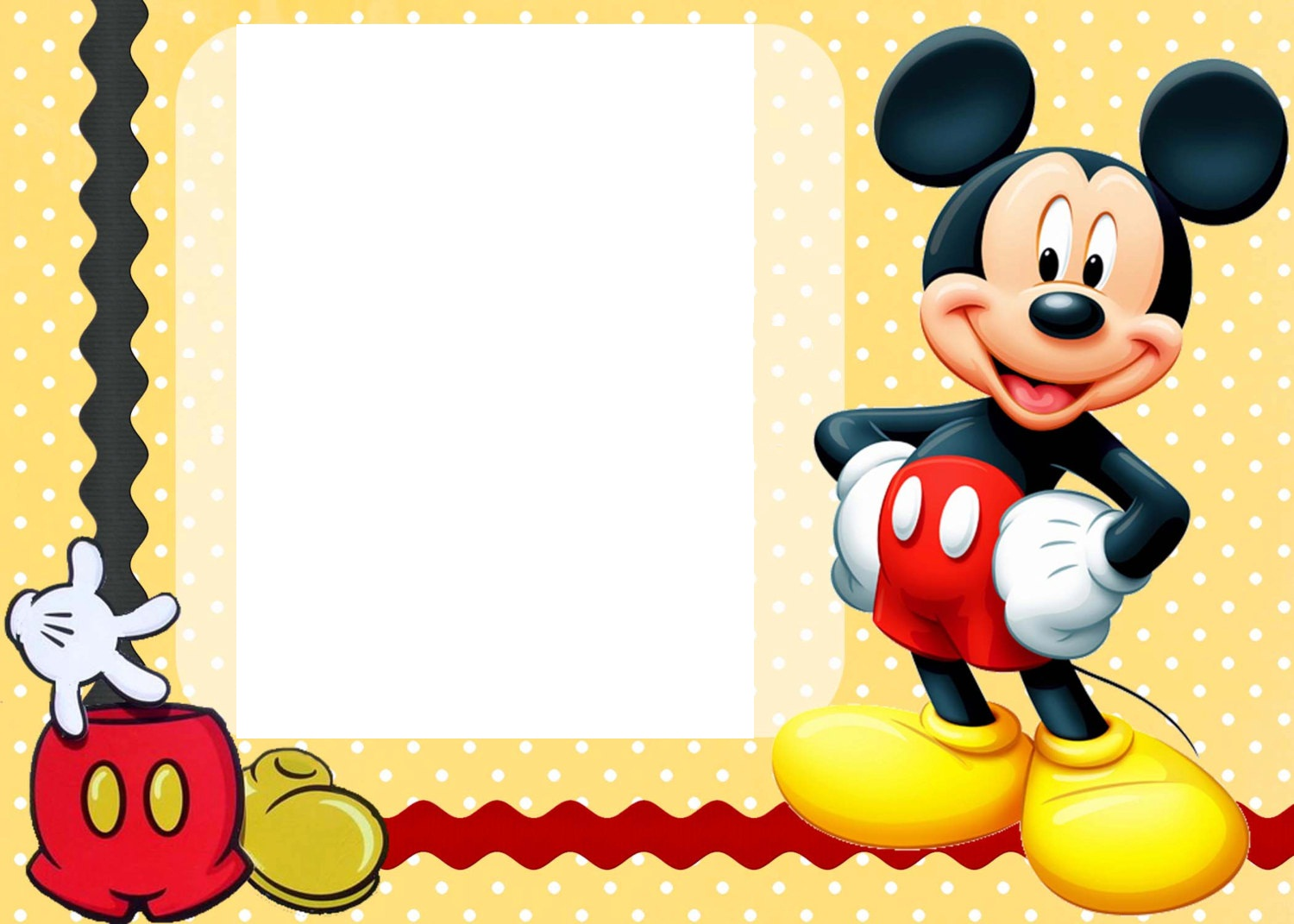 Mickey Mouse Clubhouse Invitation Template was amazing invitation sample