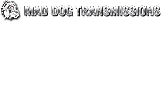 Mad Dogs Logo Mad Dog Transmissions