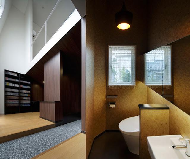 Ванная комната в оригинальном доме
