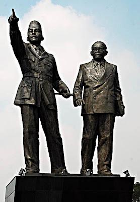 Soekarno Hatta Statue, Jakarta airport