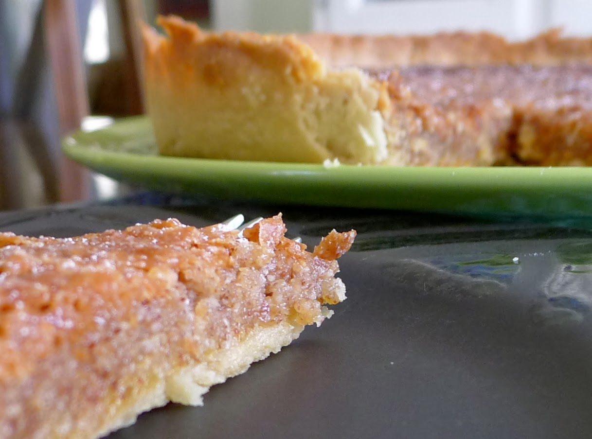 Lemon Almond Tart, dessert