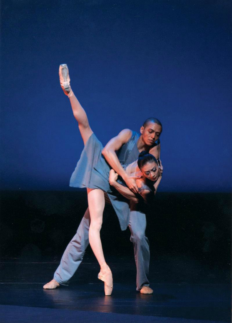 ballet, dancers, pas de deux