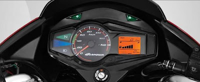 2011 Hero Honda Glamour Digital Display