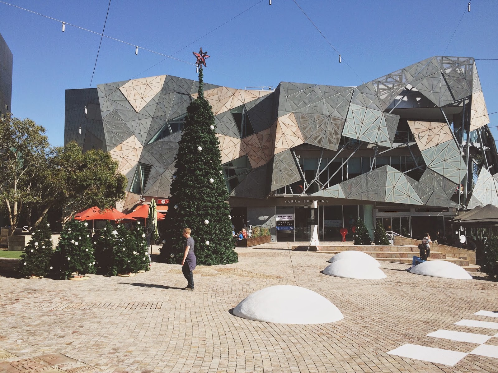 Bramble and Thorn, Federation Square, Christmas
