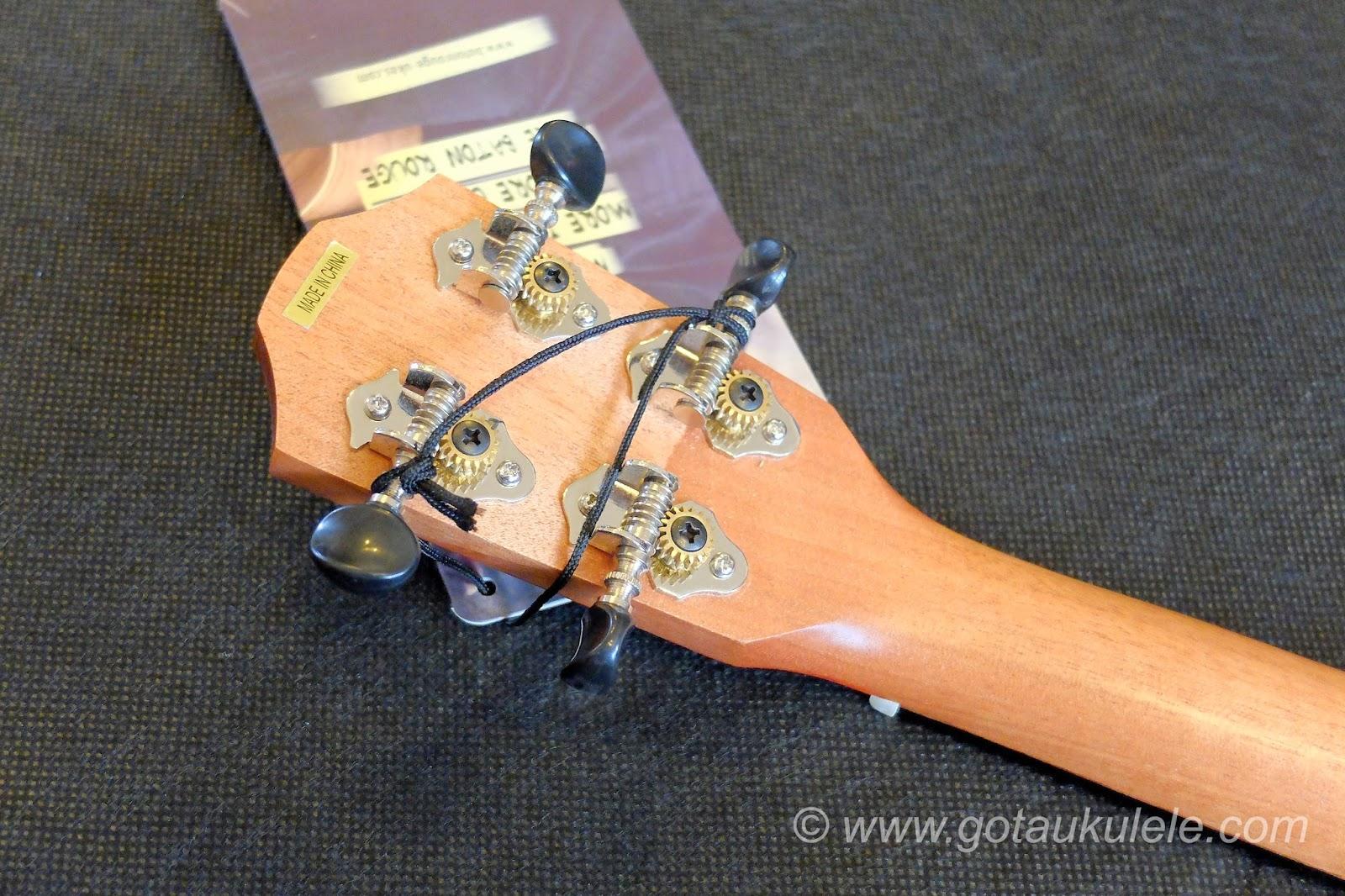 Baton Rouge V2C Sun ukulele tuners