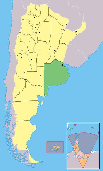 Map Capital Federal Argentina - Argentina map capital