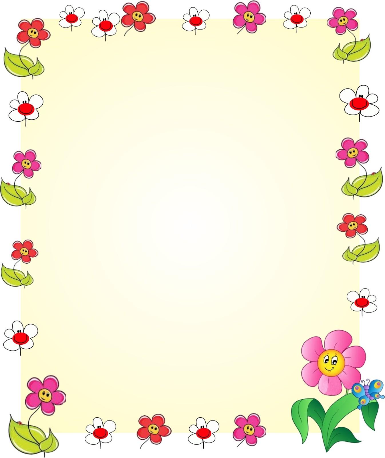 Bordes De Flores Para Word
