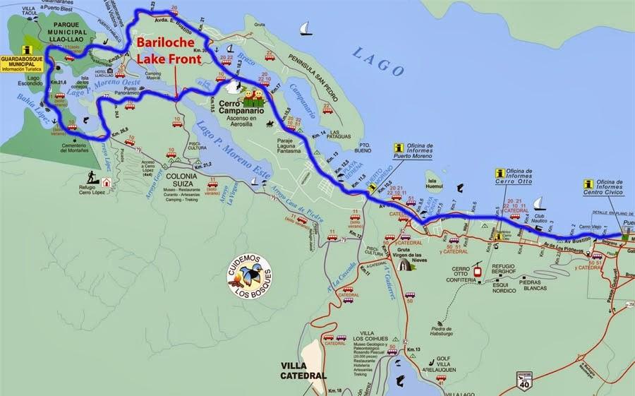 Circuito Chico Bariloche : Bariloche para brasileiros circuito chico e grande