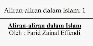 ebook islam, aliran islam, agama islam