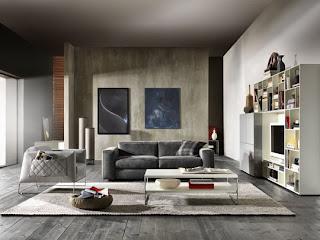 sofás modernos y tecnológicos