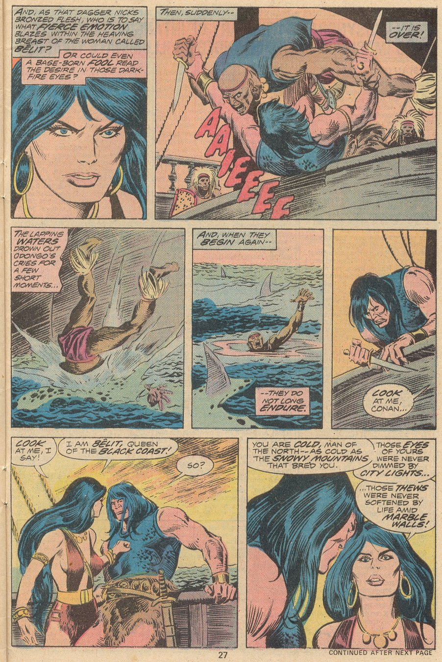 Conan the Barbarian (1970) Issue #58 #70 - English 18