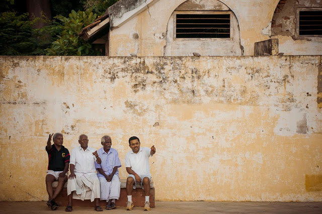Men – Pondicherry, India.