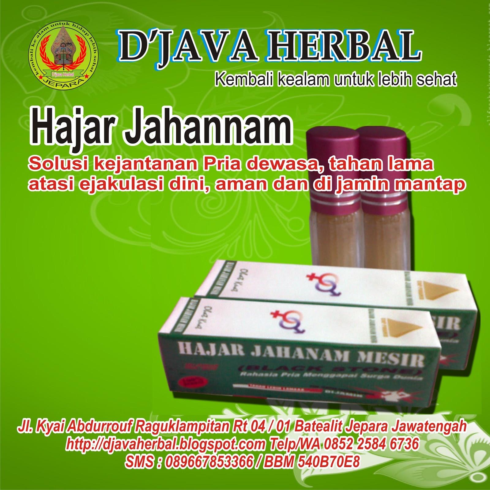herbal kejantanan oles bergaransi djava herbal