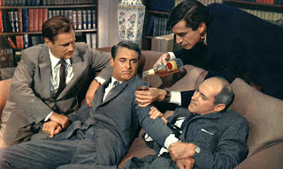 Landau and Grant North by Northwest 1959 movieloversreviews.blogspot.com