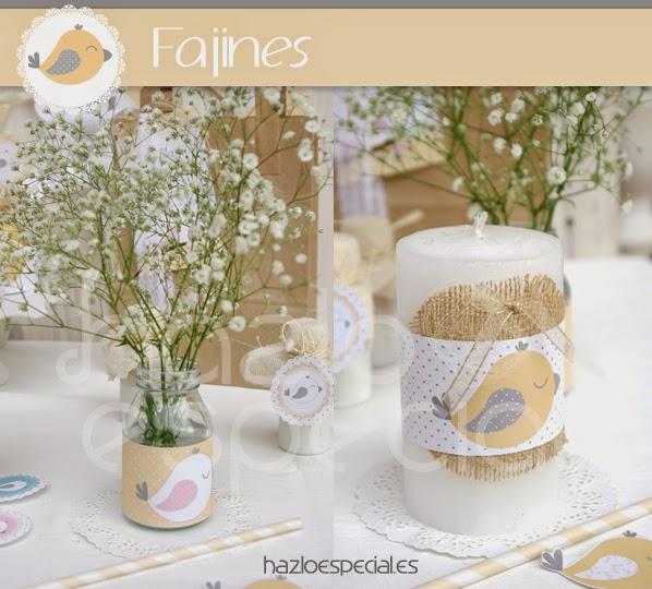 Hazlo especial decoracion ideal para bautizo for Decoracion de bautizo