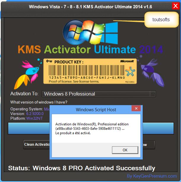 Хорошее. Kms активатор windows 7. русский.
