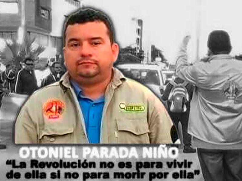 La USO nacional recuerda y reafirma el legado del líder Otoniel Parada Niño