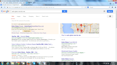 Zip Code Search in Paid Search Result